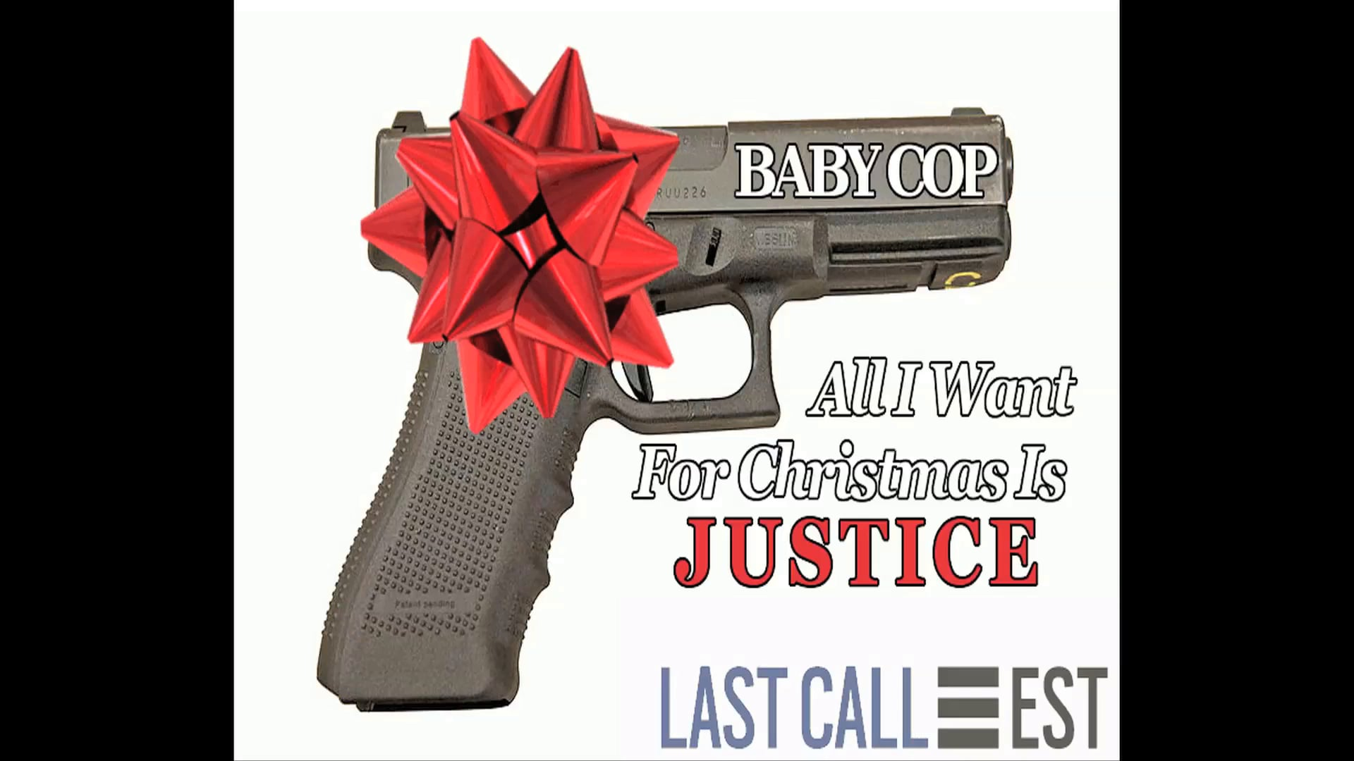 """Xmas Baby Cop """"All I Want For Christmas is Justice"""" promo teaser"""