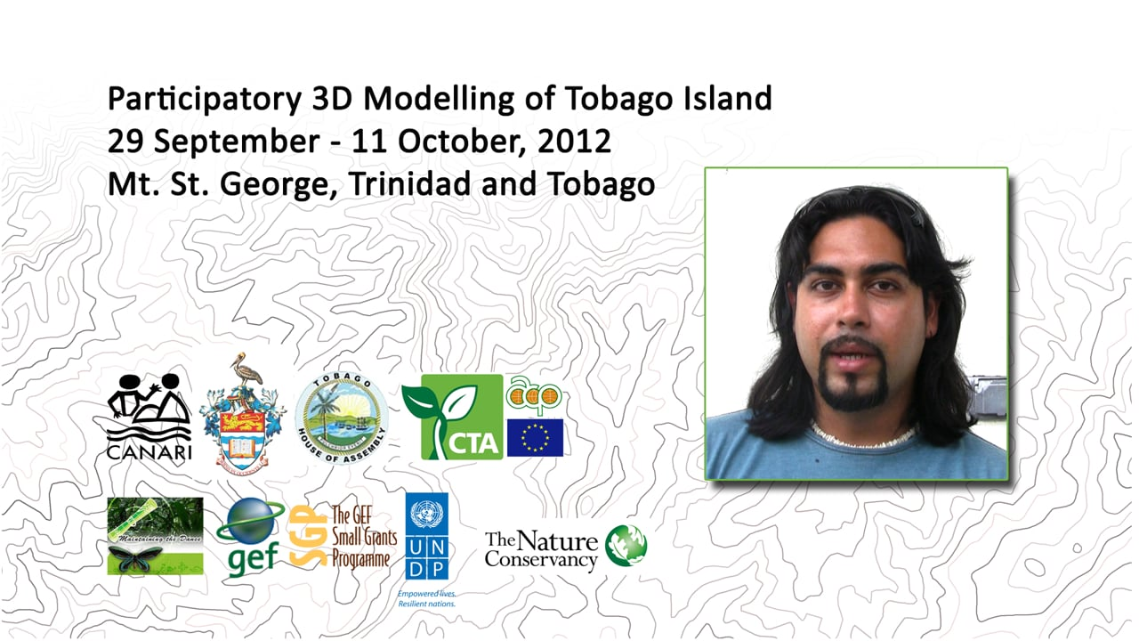 Participatory data generation: stunning results from the P3DM exercise in Tobago reports Adam Jehu