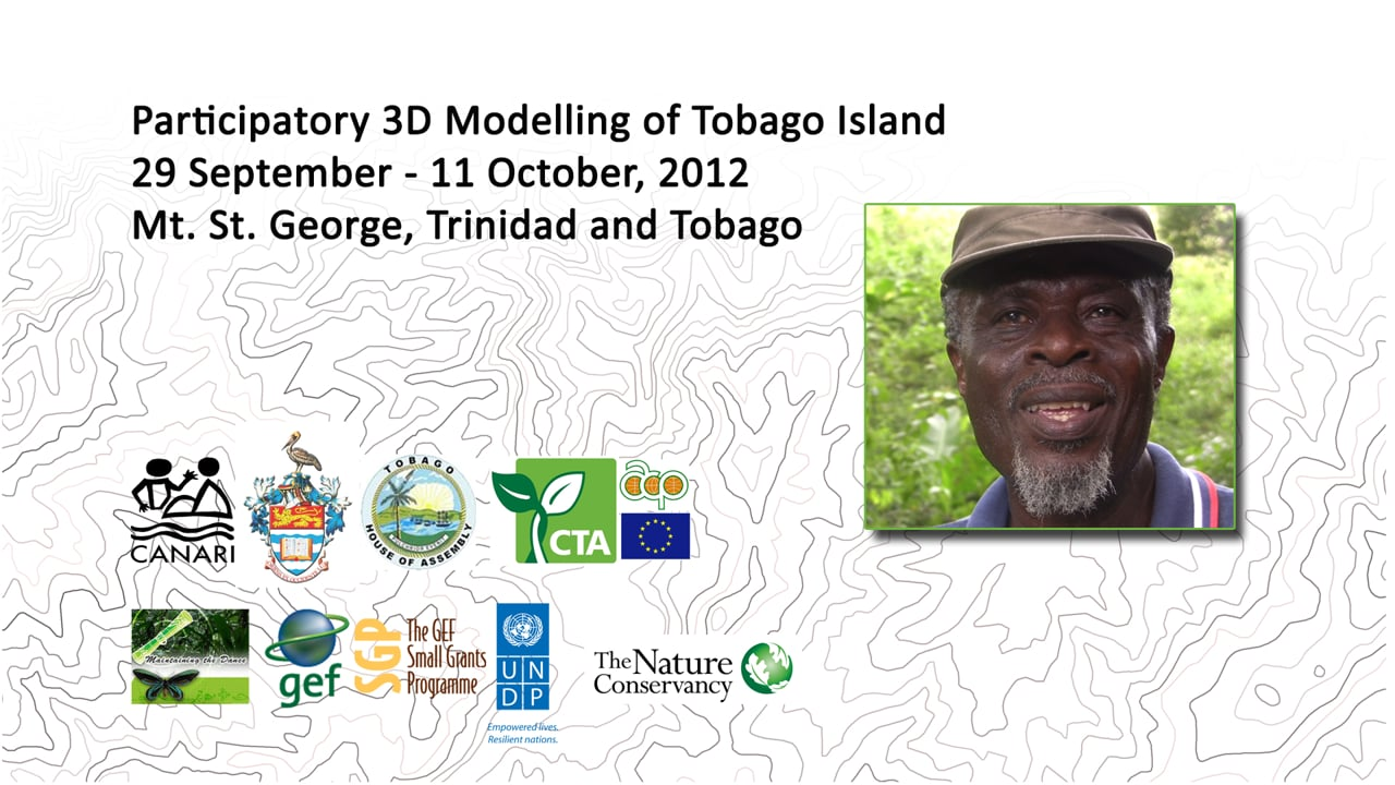 Goldberg Job reports back on his participation in a participatory 3-dimensional modelling exercise in Tobago