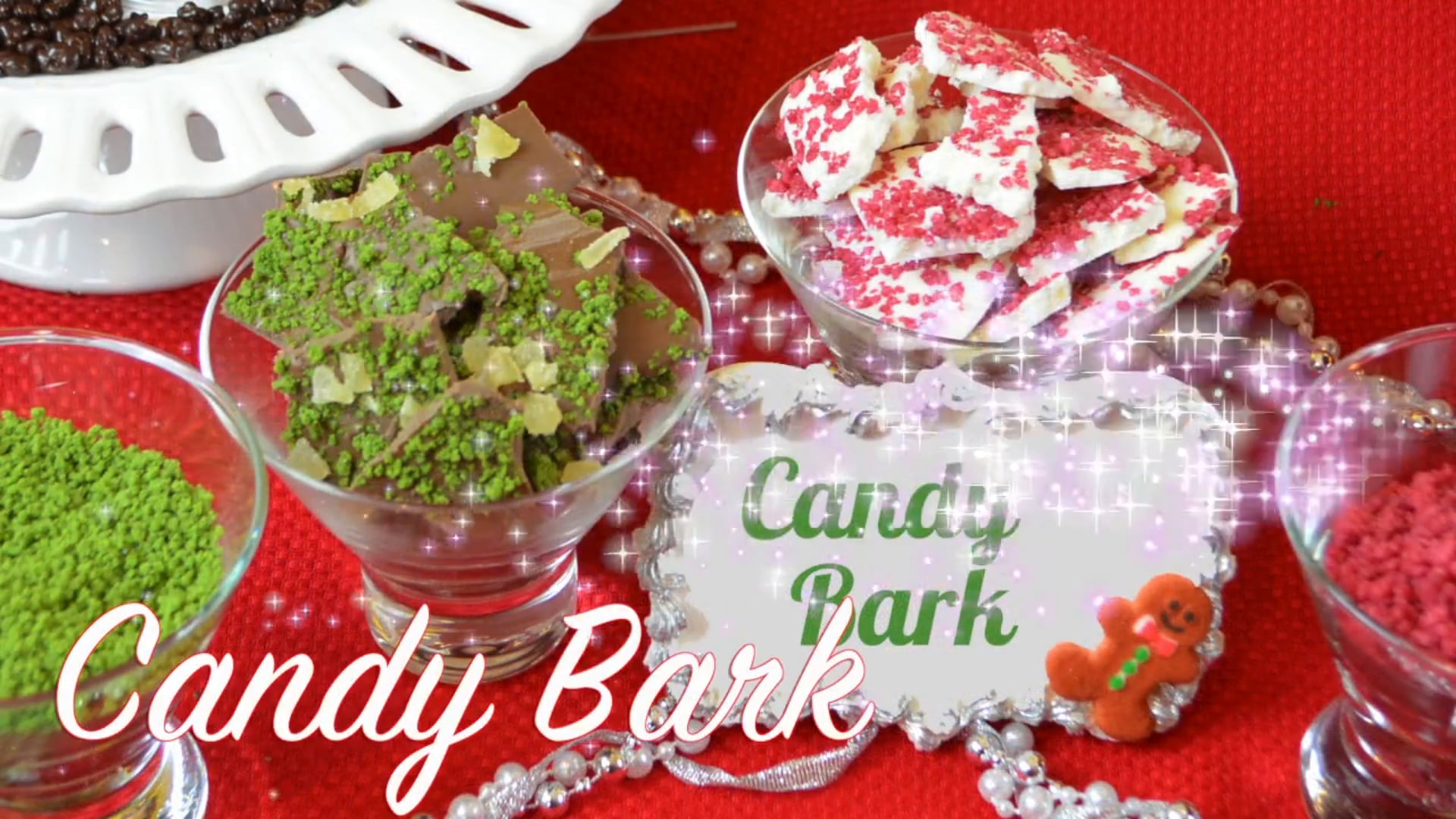 Free Video: How to make Candy Bark