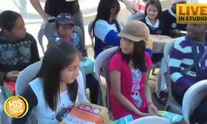 Operation Christmas Child Shares Gospel in Ecuador