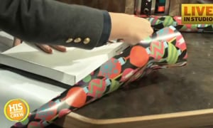 Watch This Incredible Trick for Wrapping Presents