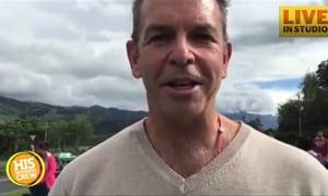 Rob Dempsey Checks in From Ecuador
