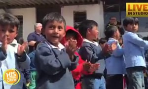 Operation Christmas Child is Handing Out Shoeboxes in Ecuador
