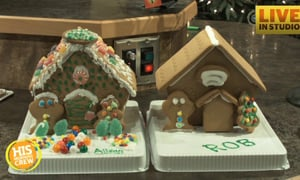 Who Won the HIS Morning Crew Gingerbread Competition
