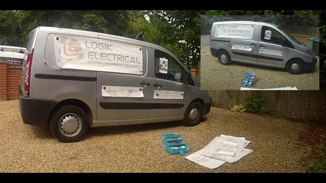 Logik Electrical   Time laps - van graphics installation