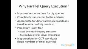 SQL Parralism