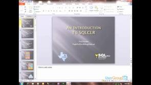SQL CLR