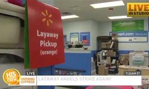 Layaway Angel Gives Walmart Shoppers Huge Gift