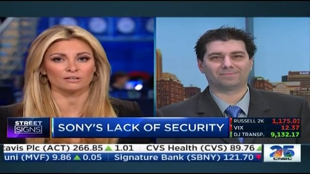 Vinny Troia on CNBC discussing the Sony Hack