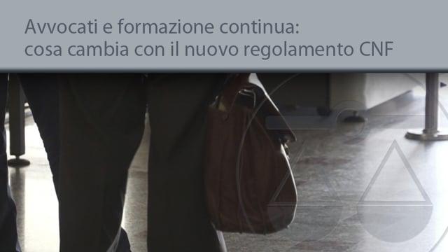Avvocati e formazione continua, cosa cambia con il nuovo regolamento CNF - 22/12/2014