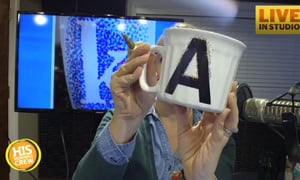 DIY Christmas With Alison, Sharpie Dotted Mugs