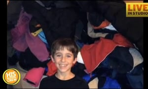 Young Boy Collects 79 Coats for Those in Need