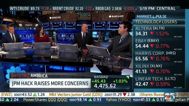 JPMorgan Major Data Breach Discussion - CNBC Closing Bell