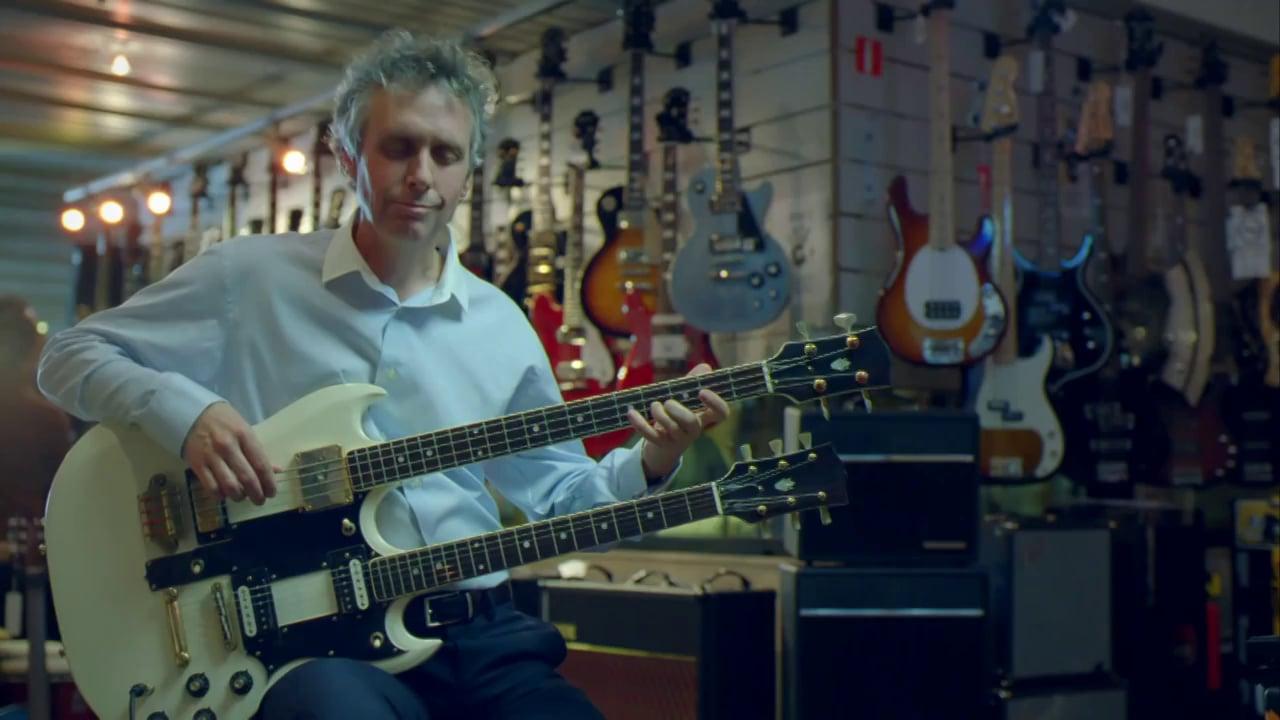 Don d'organes - Maintenant vous n'est pas en train de jouer de la guitare double-manche.