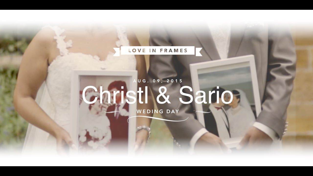 YOU & ME - WEDDING DAY - CHRISTL & SARIO