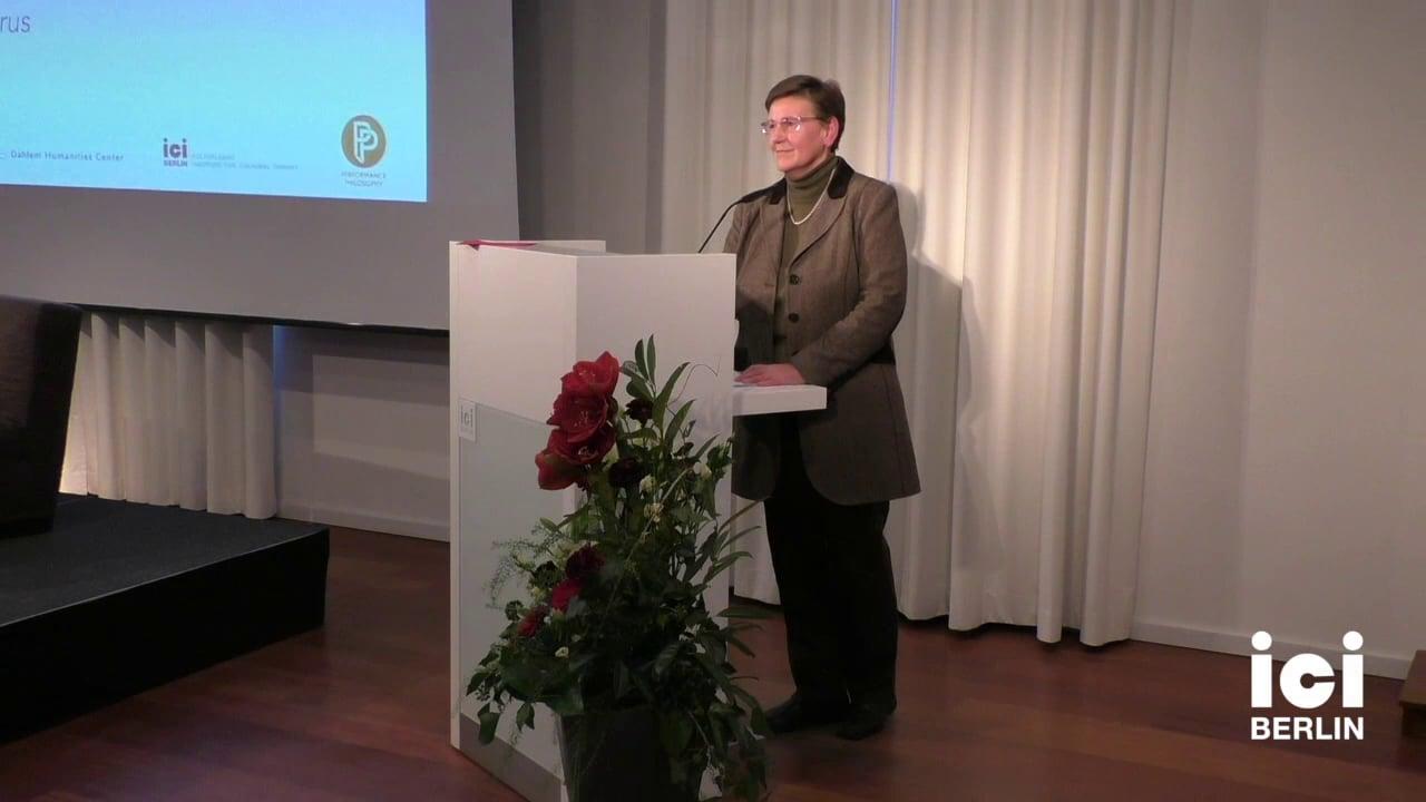 Discussion with Erika Fischer-Lichte [4]