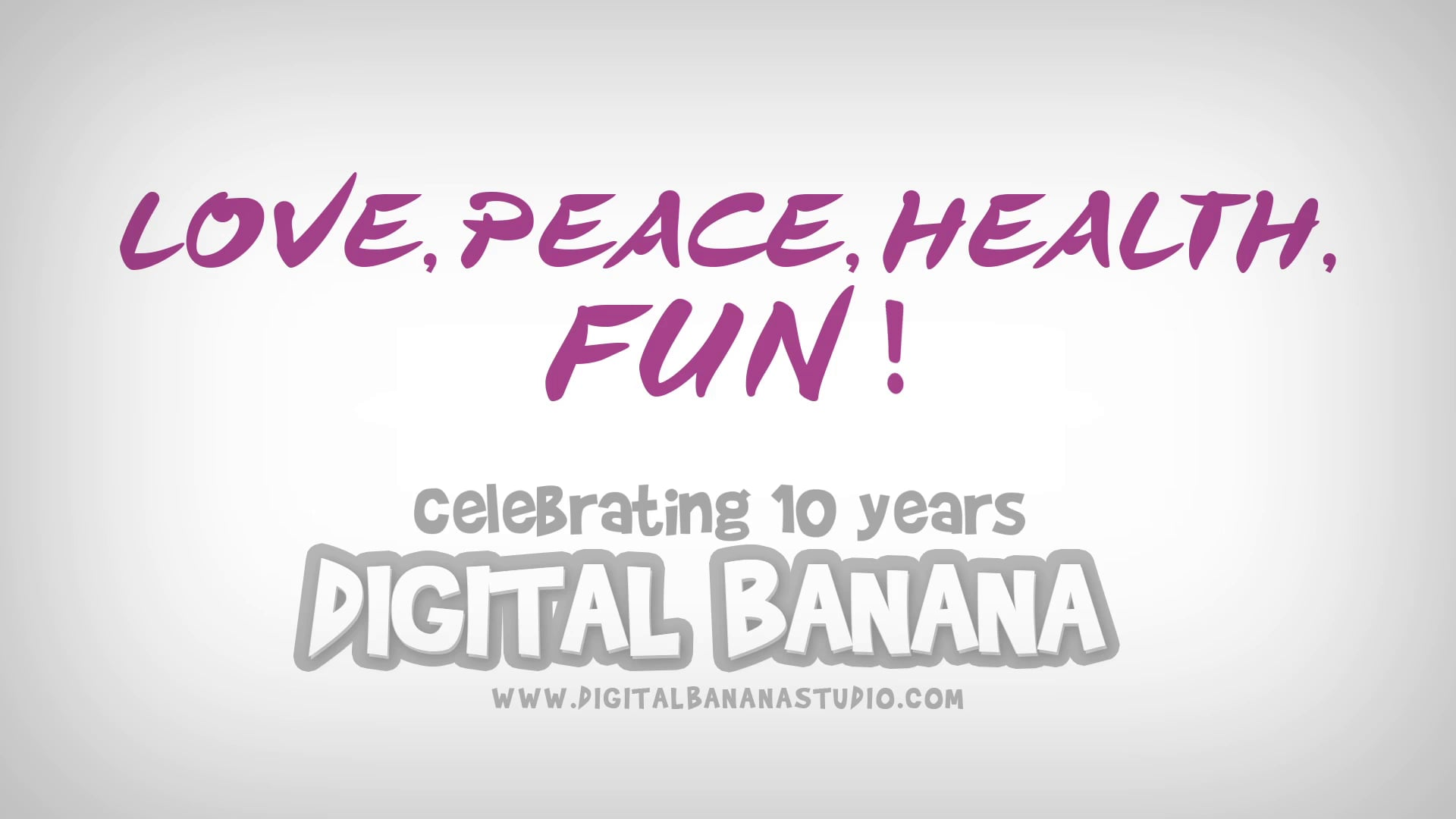 Banan'Happy New year 2015