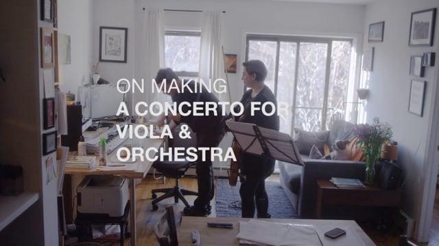 video: Muhly et Sirota sur la création d'un concerto pour alto