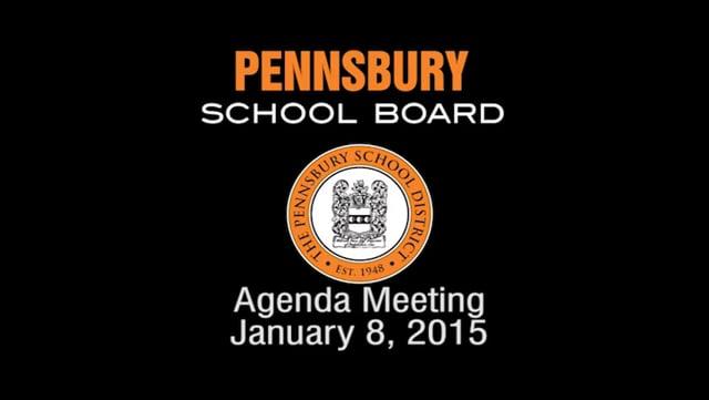 Pennsbury School Board Meeting for January 8, 2014