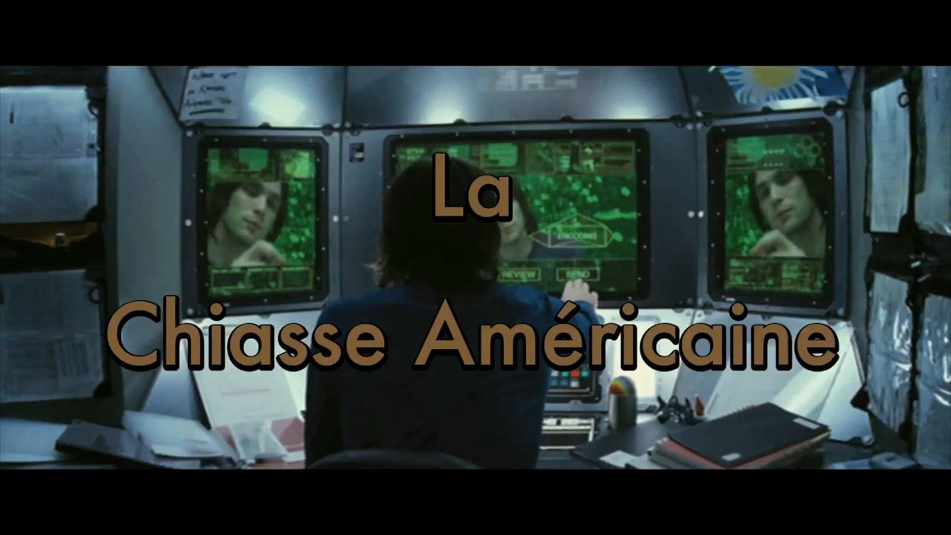 LA CHIASSE AMÉRICAINE (détournement/mashup, 2014)