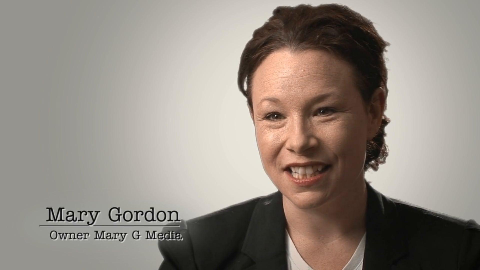 MARY GORDON BBP TESTIMONIAL