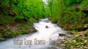 Vintgar Gorge, Slovenia - Bled