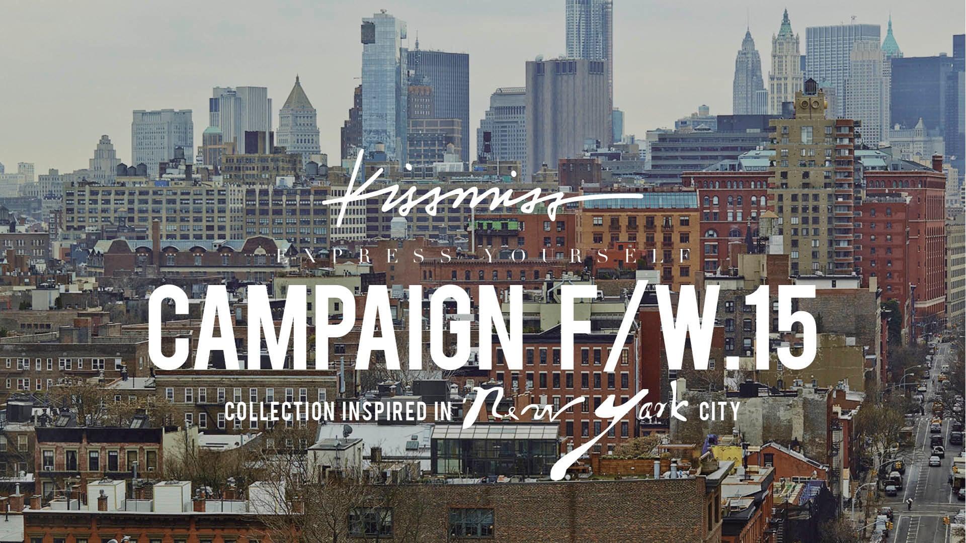 KISSMISS FW.15 / Campaign