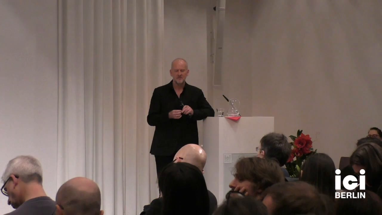 Discussion with Simon Critchley [3]