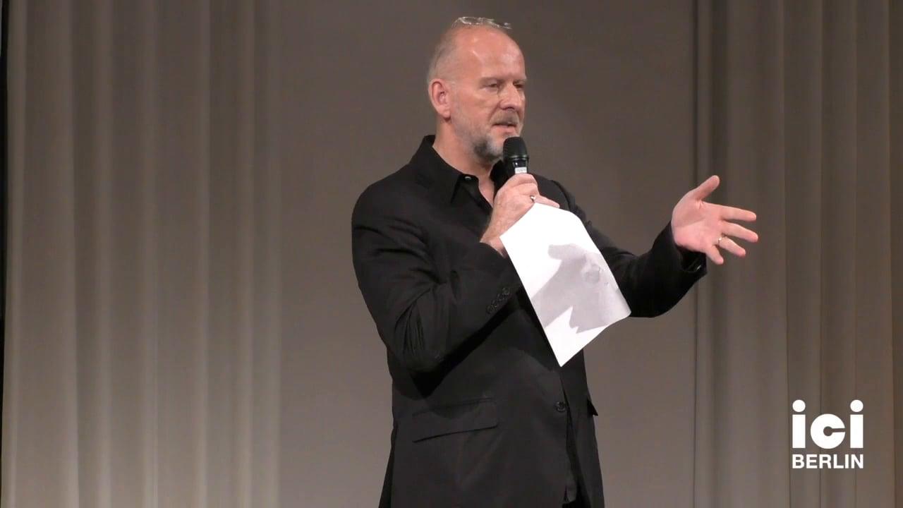 Keynote by Simon Critchley [2]
