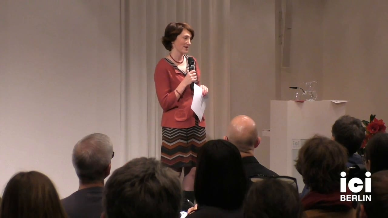 Introduction of Simon Critchley by Anna Street [1]