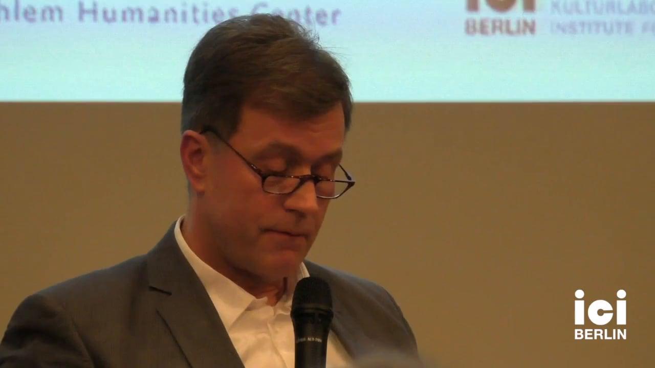 Talk by Joachim Küpper [5]