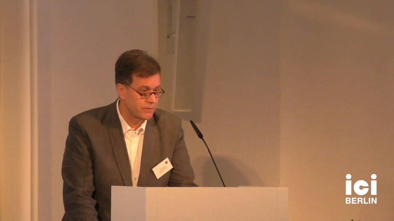 Welcome by Joachim Küpper [2]