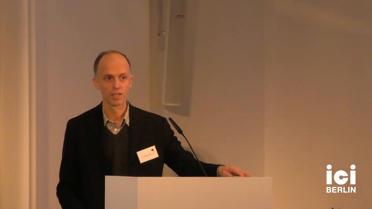 Welcome by Christoph Holzhey [3]