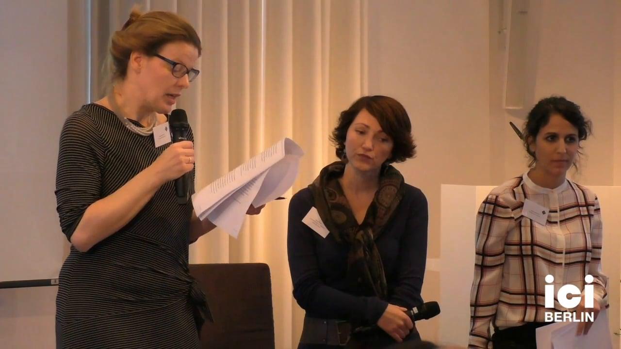 Talk by Ramona Mosse, Maïté Marciano, and Anna Street [4]