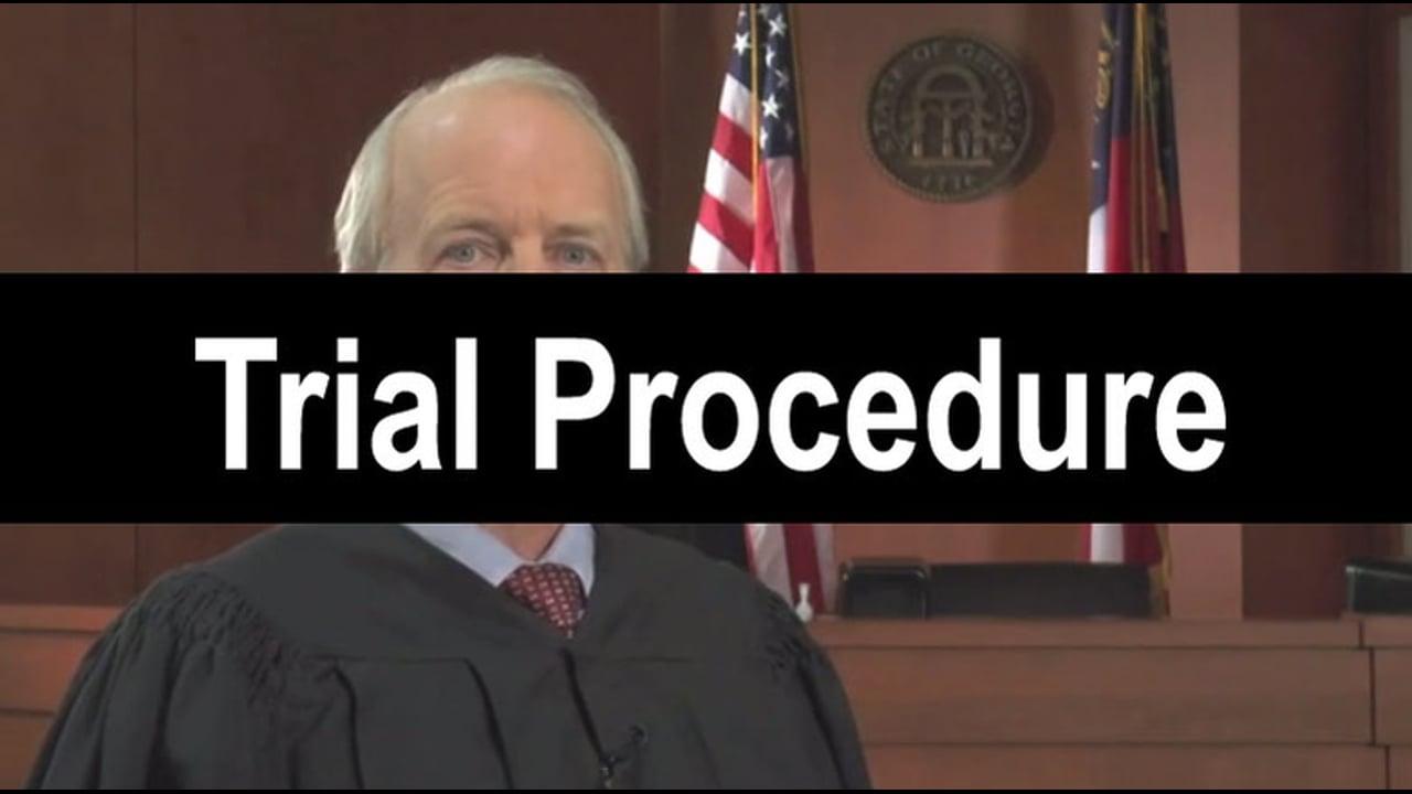 07-Trial Procedure
