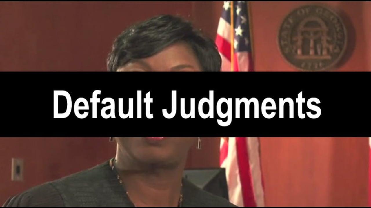 05-Default Judgments