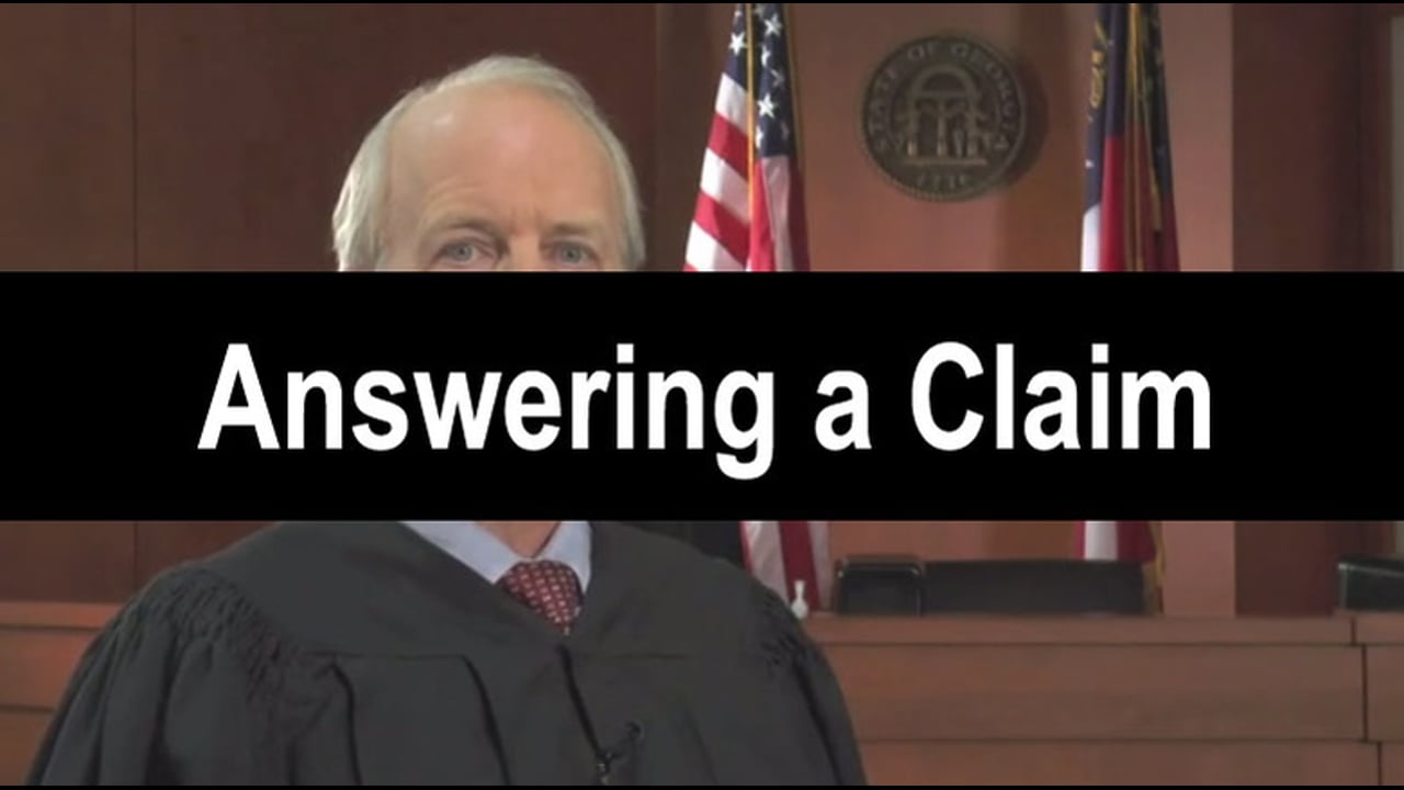 04-Answering a Claim