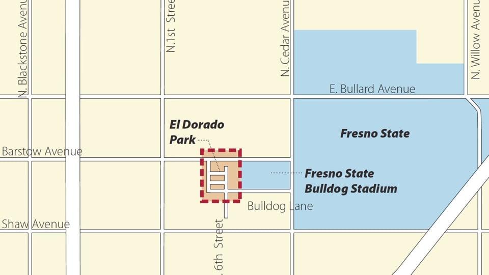 El Dorado Park in Fresno, CA