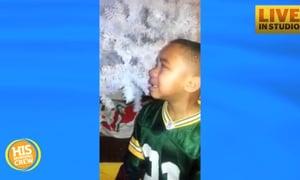 Little Packers Fan Gets Upset