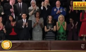 Charlotte Mom Attends State of the Union Address