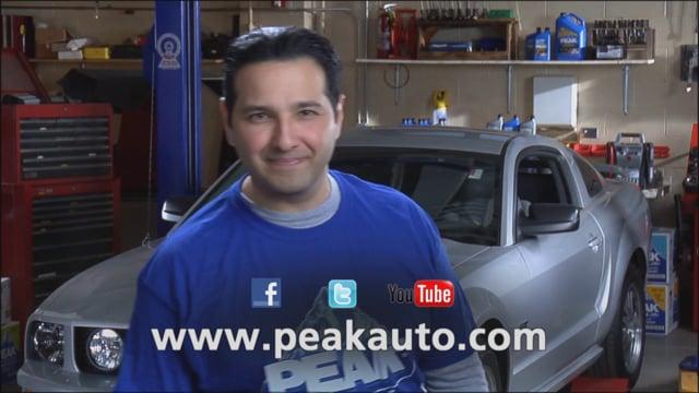 How to Change Your Motor Oil, PEAK Oil