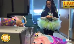 Nail Fairy Visits Kids in the Hospital