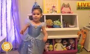 Little Girl Tells Friend She's Going to Disney