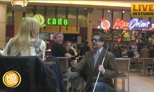 Blind Man's Girlfriend Walks Away From Proposal
