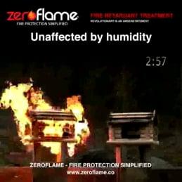Video: Zeroflame Fire Retardant Treatment