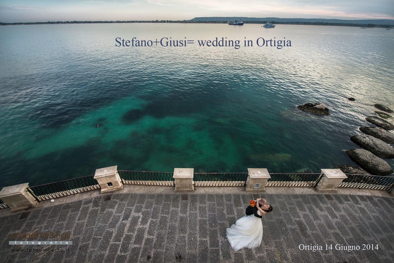 Stefano+Giusi = wedding in Ortigia
