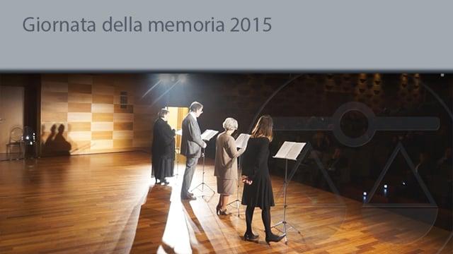 Giornata della Memoria 2015 - 26/1/2015