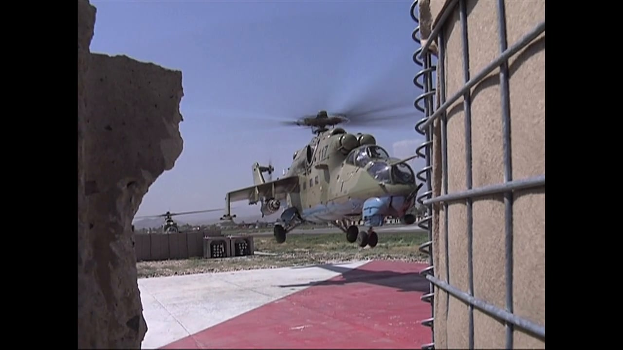Captain Nimo and his MI-24 Hind