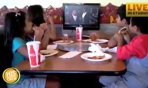 What Happens When Kids Eat Pizza